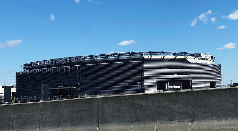 MetLife Stadium, home of the Jets & Giants<br /> Secaucus, New Jersey