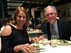 Michael and Barbara Lawler, who have sailed around the world,<br /> at Come Prima Ristorante on Madison Ave.