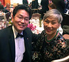 With Anne Shih, chairwoman, Bower's Museum, Santa Ana, CA
