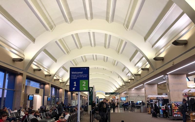 Departure from SNA, John Wayne Airport.