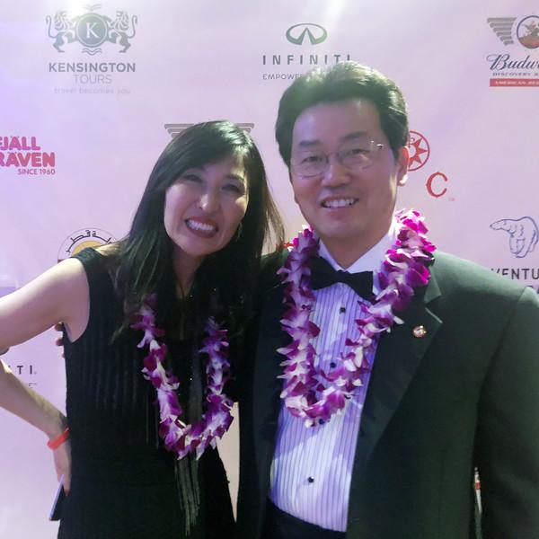 With Joohyun, college art professor