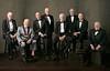 Photo by Felix Kunze<br /> L-R: Charlie Duke (Apollo 16), Buzz Aldrin (Apollo 11), Walter Cunningham (Apollo 7), Al Worden (Apollo 15), Rusty Schweickart (Apollo 9), Harrison Schmitt (Apollo 17), Michael Collins (Apollo 11), and Fred Haise (Apollo 13)