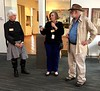 Docents and David Dolan.<br /> Bowers Museum, May 20, 2018