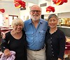 Helen Dolan (mother), David Dolan and Anne Shih.<br /> Bowers Museum, May 20, 2018