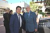 Kevin Lee & Jean-Michel Cousteau.<br /> WECAD 2019, Bowers Museum, Santa Ana, California<br /> Photo: Gene Arias