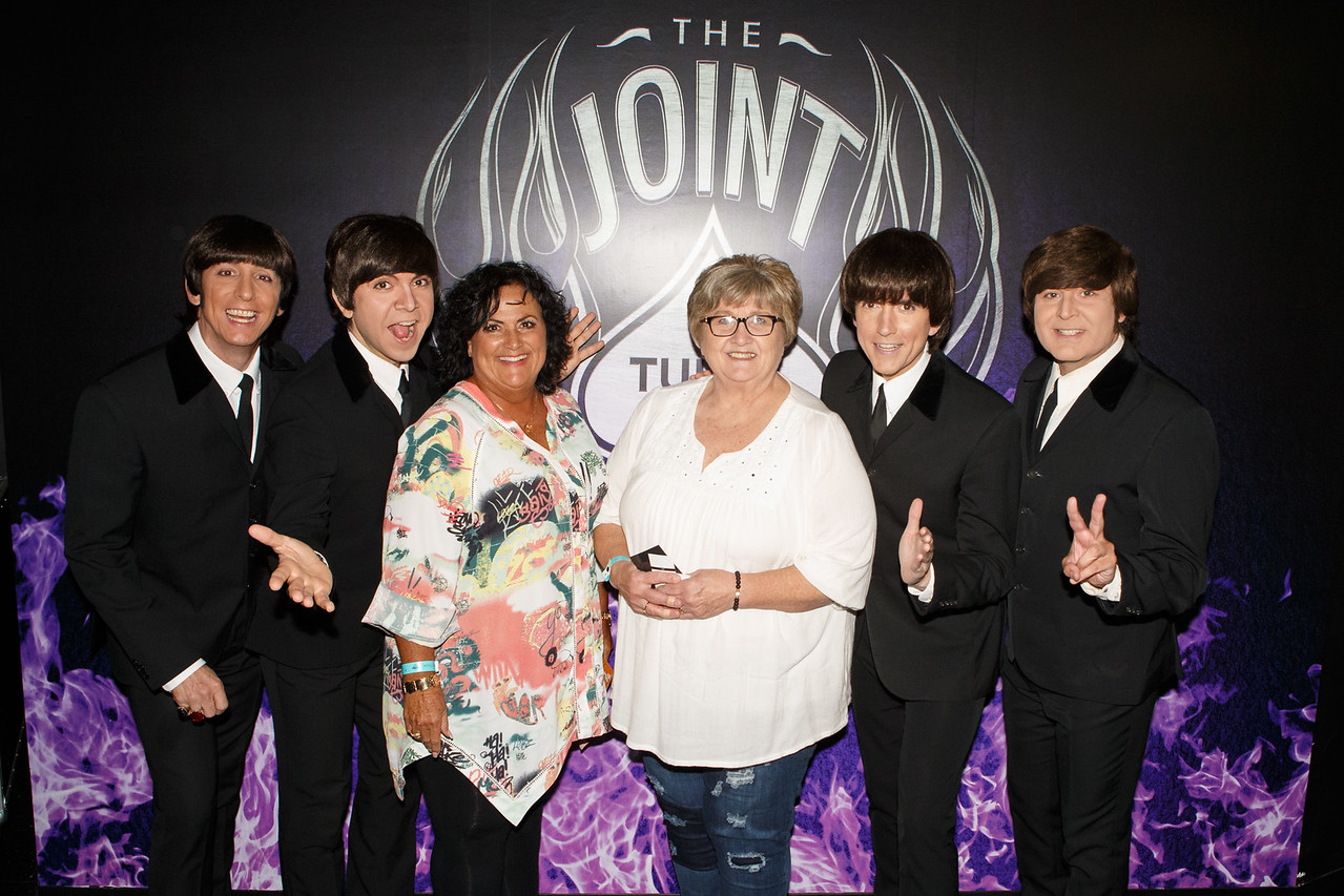 The Fab Four performs at The Joint