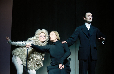 Françoise Gillard (Little Dog), Madeleine Marion (Lady), Laurent Natrella (Man)