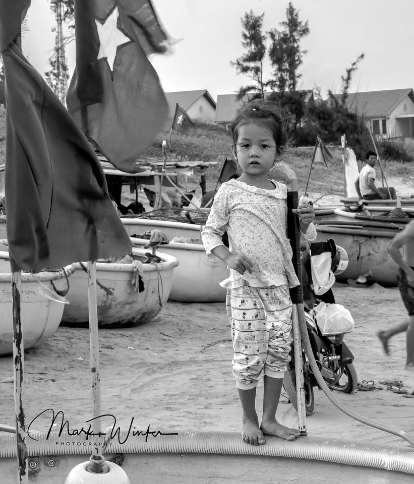 Fishing Village outside of Phan Thiet