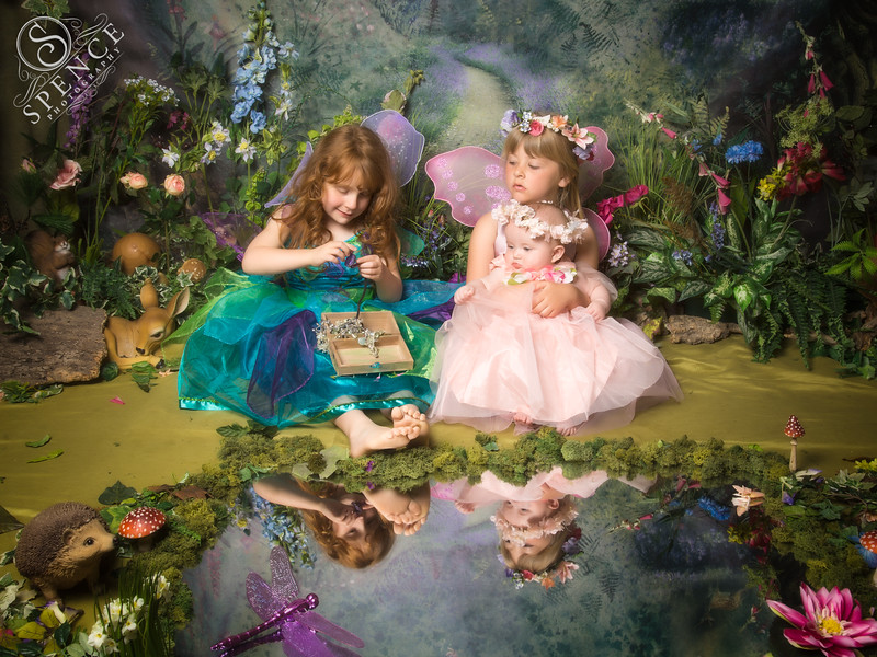 Kali, Charley & Amber - The Fairy Experience @ Spence Photography