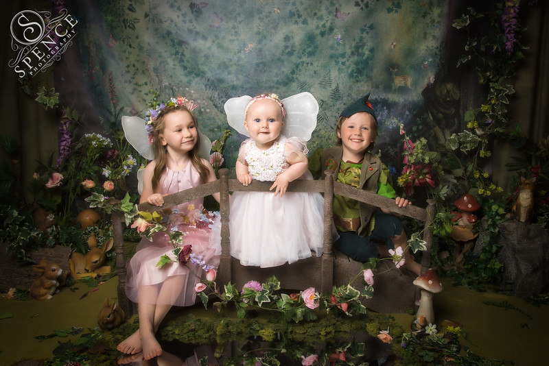 Lucy, Emily & Ryan - The Fairy Experience @ Spence Photography