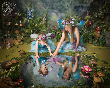 Kimberley & Aimee - The Fairy Experience @ Spence Photography