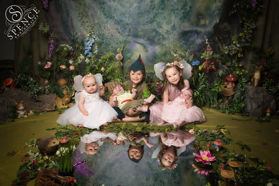 Emily, Ollie, Ryan, Lucy & Sophia - The Fairy Experience @ Spence Photography