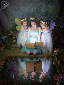 Ava-Louise, Katie-Leigh & Niamh - The Fairy Experience @ Spence Photography