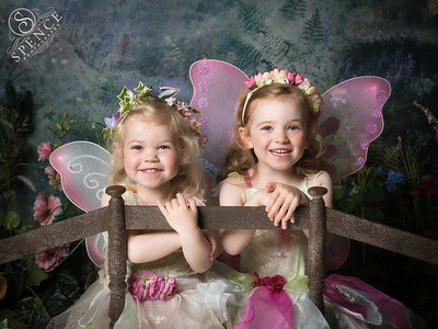 Charlotte & Phoebe - The Fairy Experience @ Spence Photography