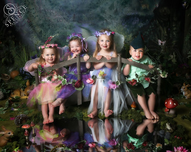All the Edmistons - The Fairy Experience @ Spence Photography