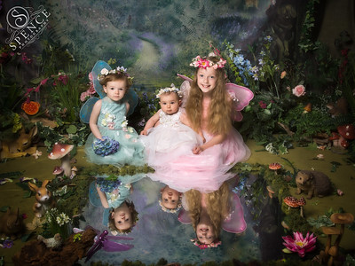 Millie, Eva & Carly - The Fairy Experience @ Spence Photography