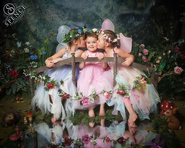 Orlaith, Leia & Caoimhe - The Fairy Experience @ Spence Photography