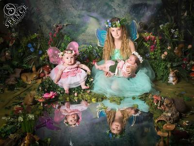 Maisy, Madison & Lola - The Fairy Experience @ Spence Photography