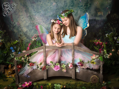 Holly & Lucy - The Fairy Experience @ Spence Photography