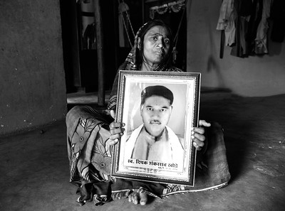 Chita Deepak Rao Khode in Vai village is a widow as well. Her husband Deepak Rao Khode spent  Rs. 3.6 lacs on her daughter's wedding as dowry, he could never recover from the loss in agriculture and had borrowed money for the wedding of her daughter. He consumed pesticides he used for agriculture to end his life.