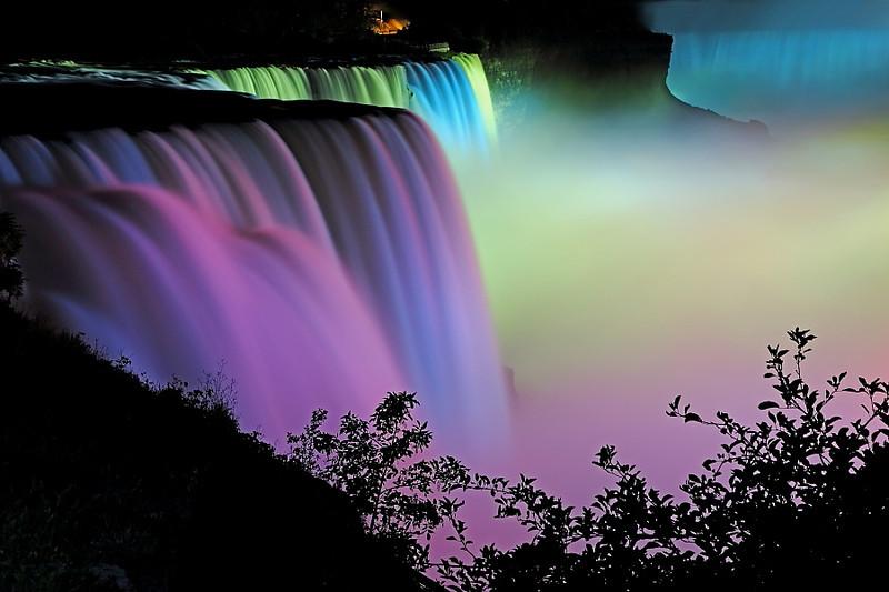 Image #0018<br /> American & Canadian Falls ~ Niagara Falls, N. Y.