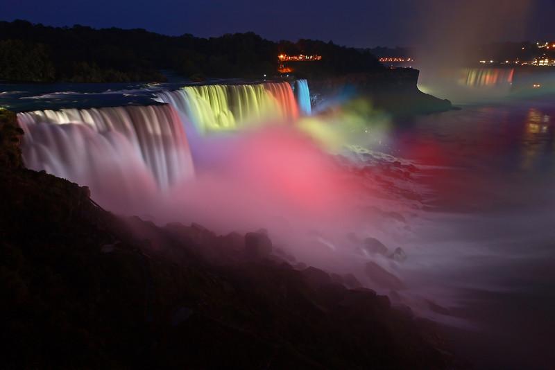 Image #241<br /> American & Canadian Falls ~ Niagara Falls, N. Y.