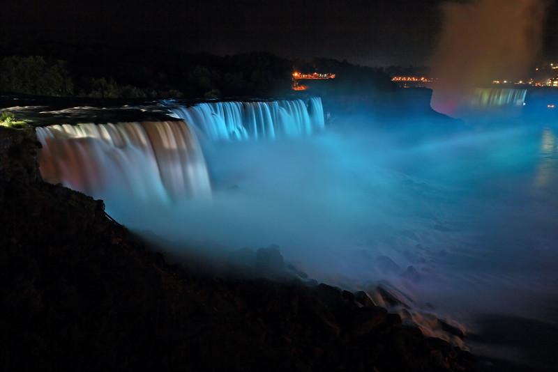 Image #432<br /> American & Canadian Falls ~ Niagara Falls, N. Y.