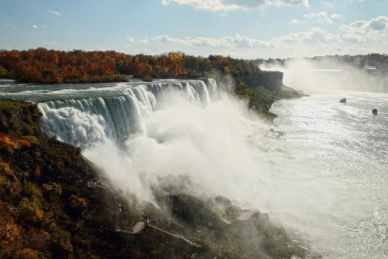Image #4910<br /> American & Canadian Falls ~ Niagara Falls, N. Y.