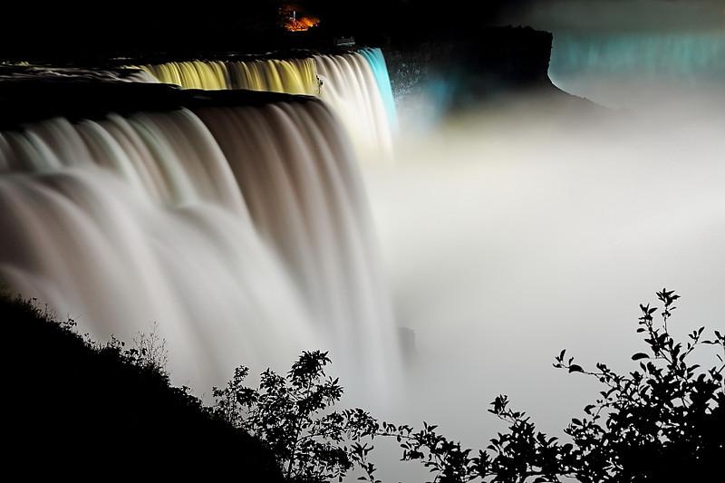Image #0034<br /> American & Canadian Falls ~ Niagara Falls, N. Y.
