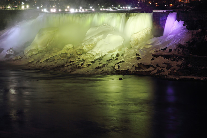 Image #273<br /> The American Falls as viewed from Canada.