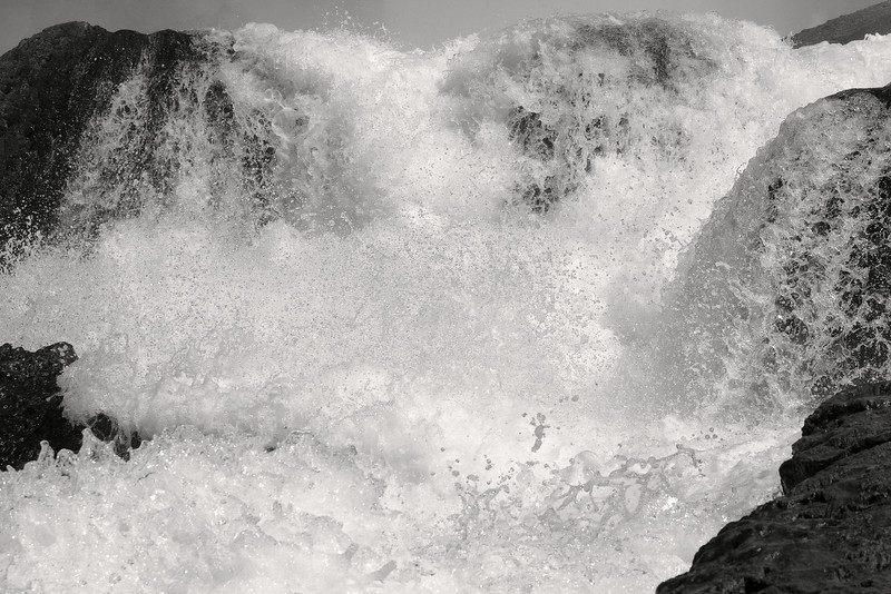 Image #7471<br /> Base of the American Falls ~ Niagara Falls, N. Y.