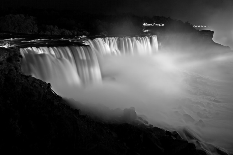 Image #420<br /> The American Falls ~ Niagara Falls, N. Y.