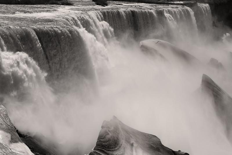 Image #6452<br /> The American Falls ~ Niagara Falls, N. Y.