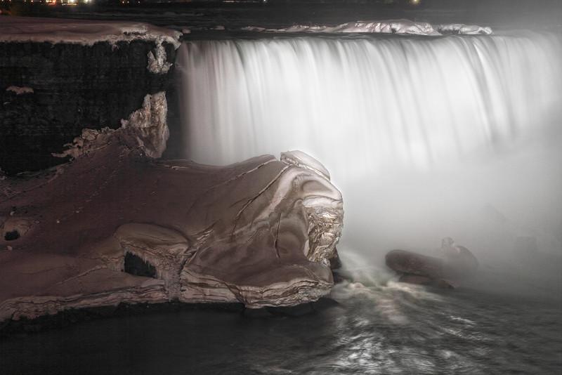 "Image #261<br /> The ""Horseshoe"" Canadian Falls ~ Niagara Falls Ontario, Canada"