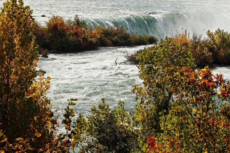 "Image #4832<br /> The ""Horseshoe"" Canadian Falls ~ Niagara Falls, N. Y."