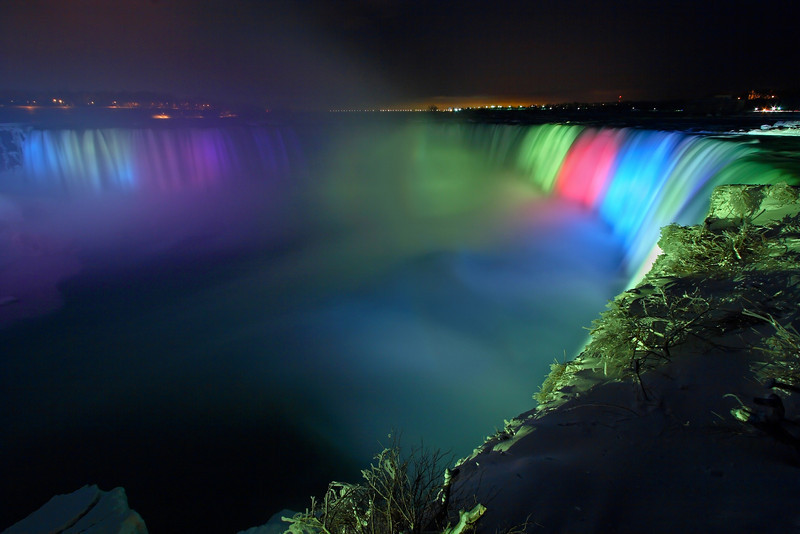 "Image #6350<br /> The ""Horseshoe"" Canadian Falls ~ Niagara Falls Ontario, Canada"