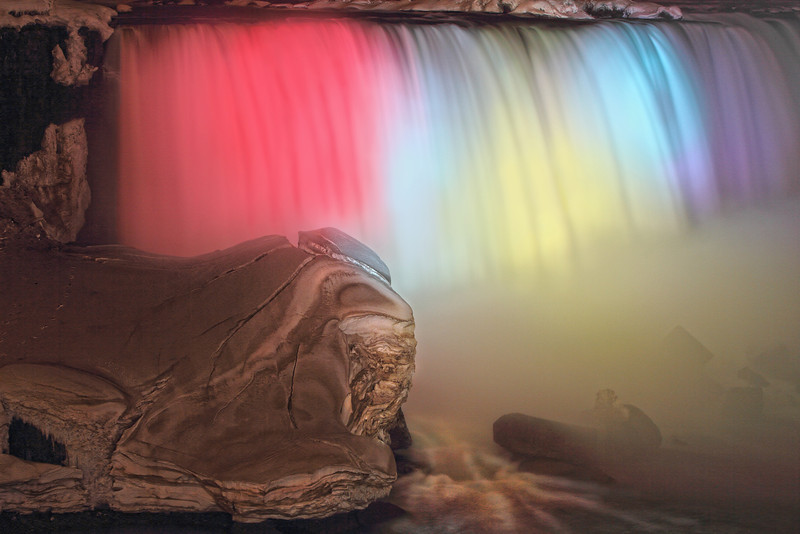 "Image #316<br /> The ""Horseshoe"" Canadian Falls ~ Niagara Falls Ontario, Canada"