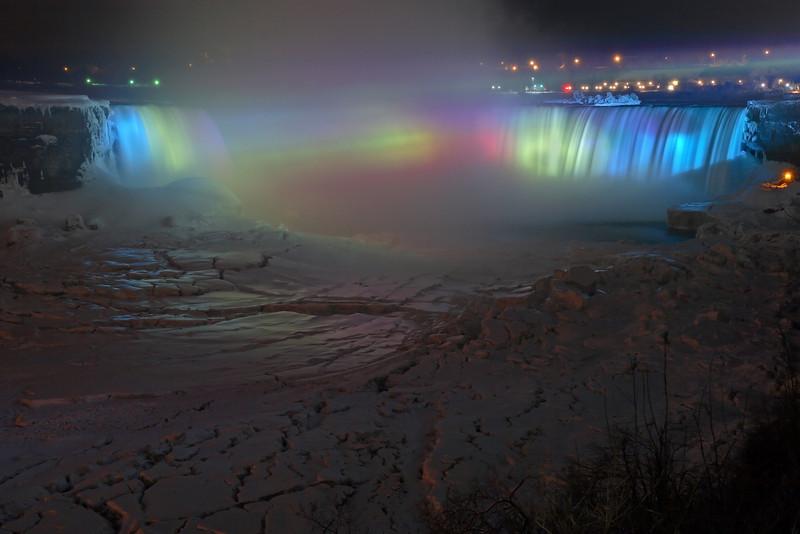 "Image #6370<br /> The ""Horseshoe"" Canadian Falls ~ Niagara Falls Ontario, Canada"