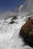 Image #7290<br /> Base of the American Falls ~ Niagara Falls, N. Y.