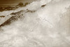 Image #7622<br /> Base of the American Falls emptying into the Lower Niagara River ~ Niagara Falls, N. Y.