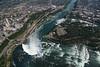 """LZ5D7752<br /> Canadian """"Horseshoe"""" Falls / American Falls."""