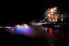Image #443<br /> Fireworks over American & Canadian Falls ~ Niagara Falls, N. Y.