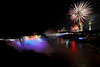 Image #440<br /> Fireworks over American & Canadian Falls ~ Niagara Falls, N. Y.