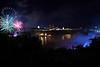 Image #7100<br /> Fireworks over the American Falls ~ Niagara Falls, N. Y.