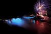 Image #448<br /> Fireworks over American & Canadian Falls ~ Niagara Falls, N. Y.