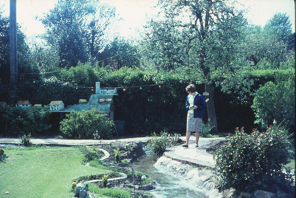 Jean in model village
