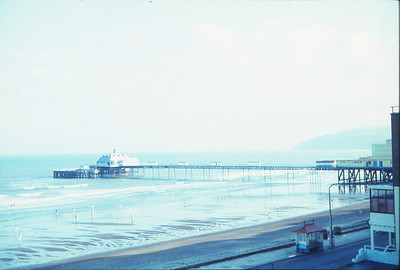 Pier from hotel