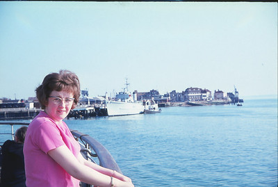 Jean On Ferry To Ryde