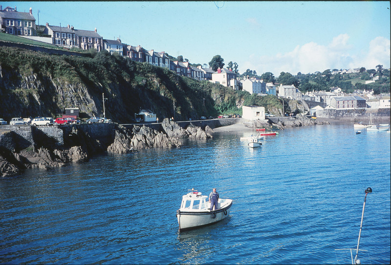 Mevagissey Holiday, Cornwall 1968