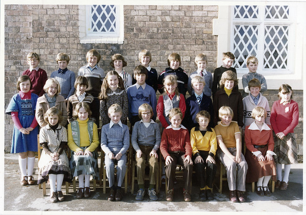 St Peters School Wrockwardine Class 5 - October 1980